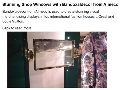 Bandoxaldecor for Shop Window Displays